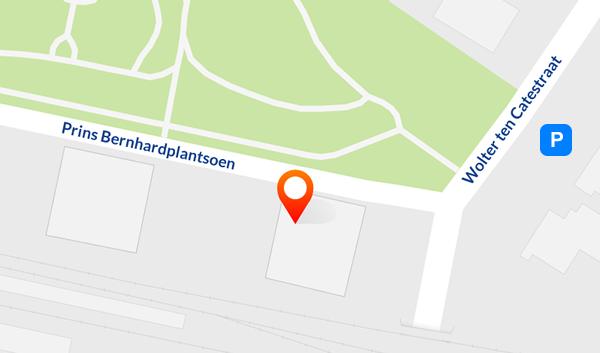 Kaart Prins Bernhardplantsoen